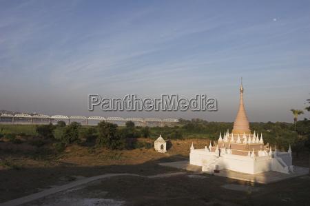 pagoda at maha aungmye bonzan monastery