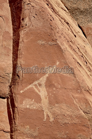 flute player pictograph honanki heritage site