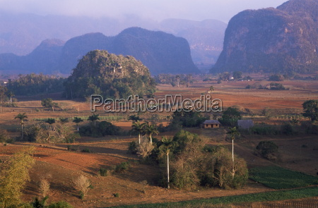 view over vinales valley from hotel