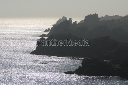 dramatic seascape island of ushant ile