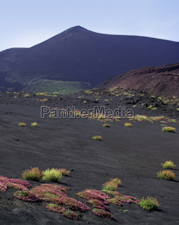 mount etna sicily italy europe