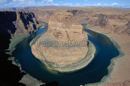 the horseshoe bend in the colorado