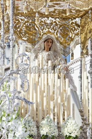 semana santa holy week celebrations malaga