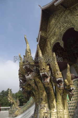 nagas at entrance to royal palace
