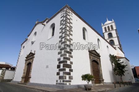 iglesia de santa ana garachico canary