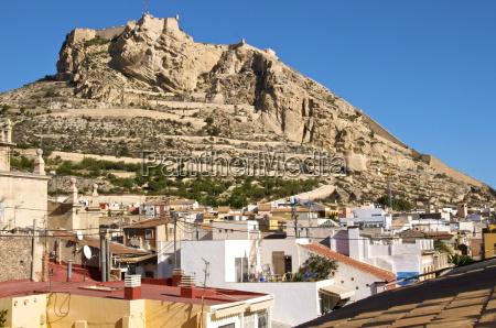 the city and castle santa barbara