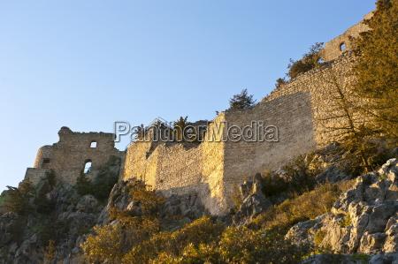 crusader castle buffavento turkish part of
