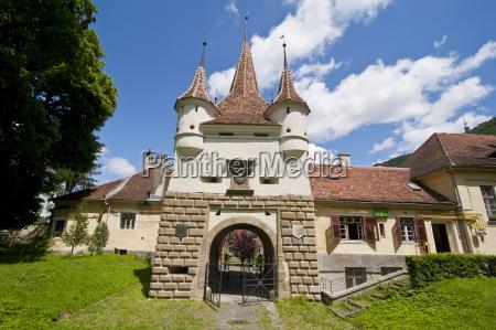 catherine gate brasov transylvania romania europe