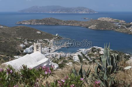 gialos from chora ios cyclades greek