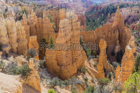 hoodoo rock formations from the fairyland