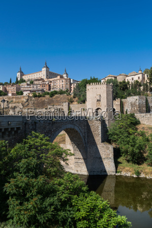 bridge over the river tagus with