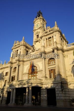 town hall plaza del ayuntamiento valencia
