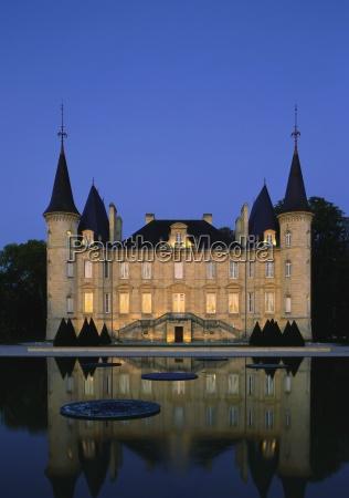 chateau pichon longueville bordeaux france