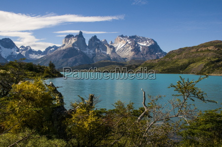 lake pehoe in the torres del
