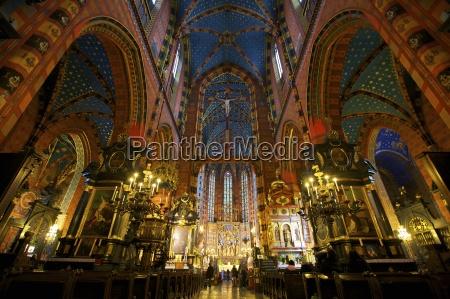 church of st mary krakow cracow