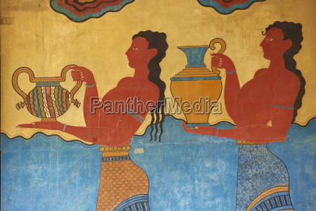 mural paintings corridor of the procession
