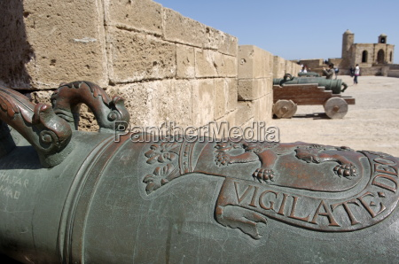 old cannons skala of the kasbah