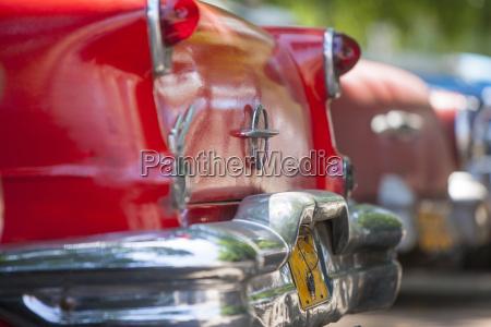 red car havana cuba west indies