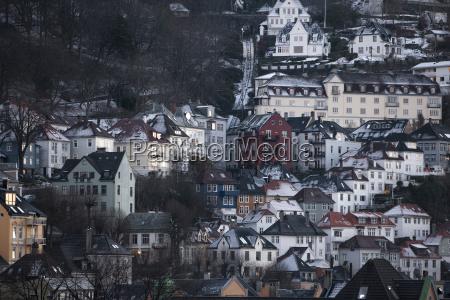 traditional buildings bergen norway scandinavia europe