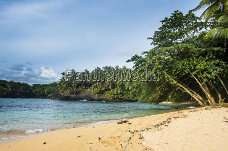 beach of praia piscina on the