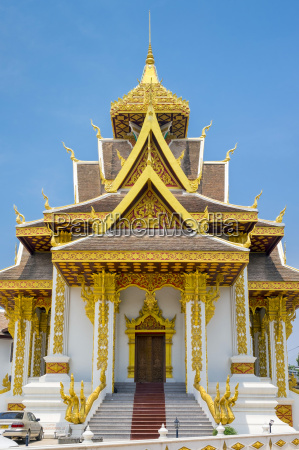 vientiane city pillar shrine vientiane laos