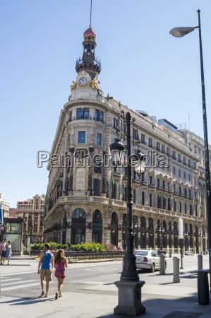 banco espanol de credito building madrid