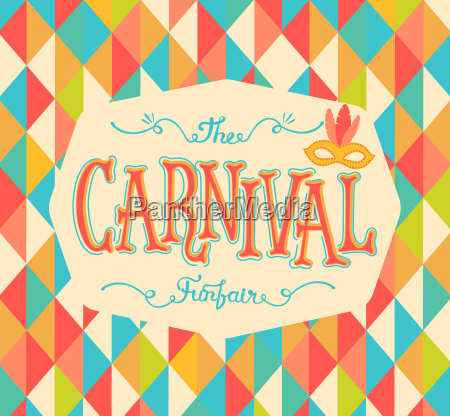 carnival funfair background