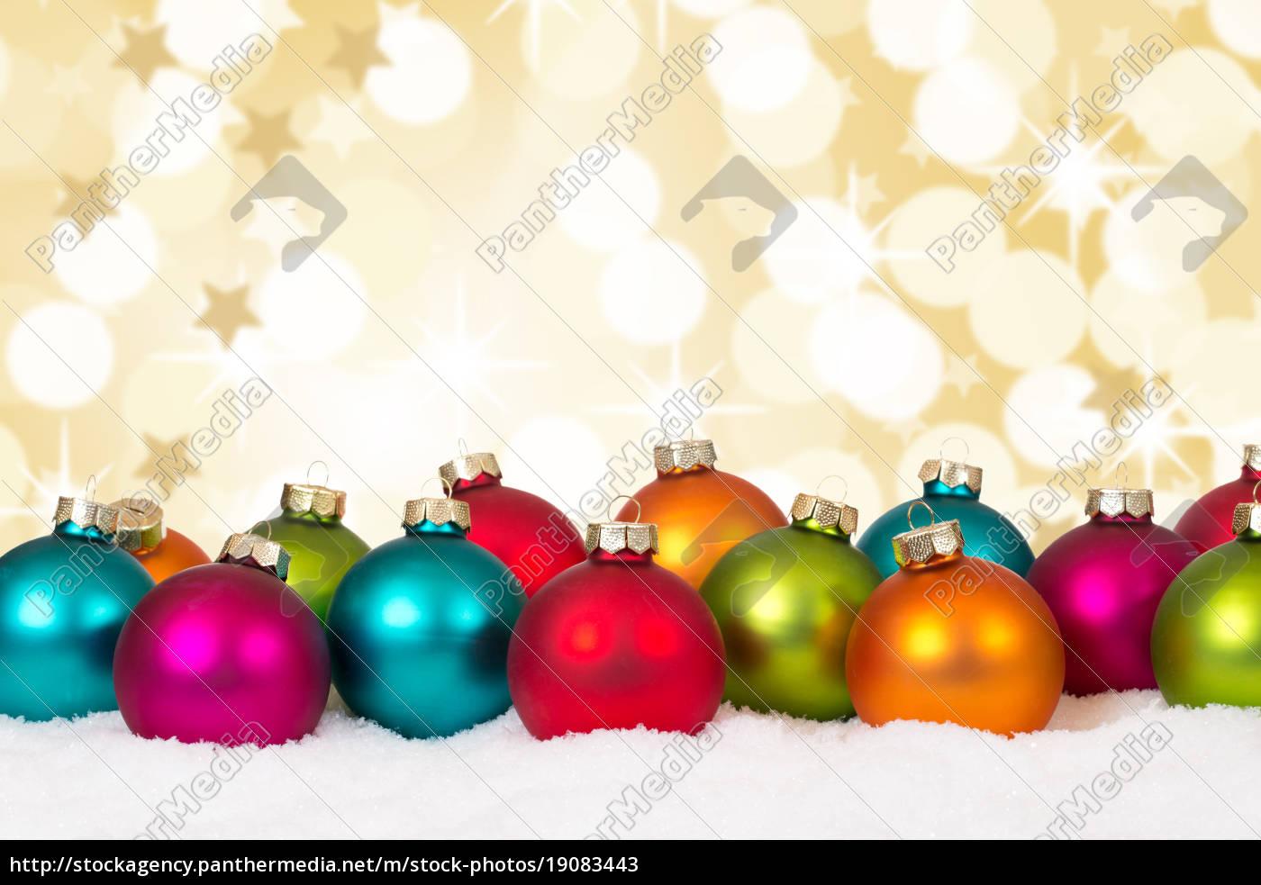 Colorful Christmas Balls.Stock Photo 19083443 Christmas Many Colorful Christmas Balls Decoration Snow Stars