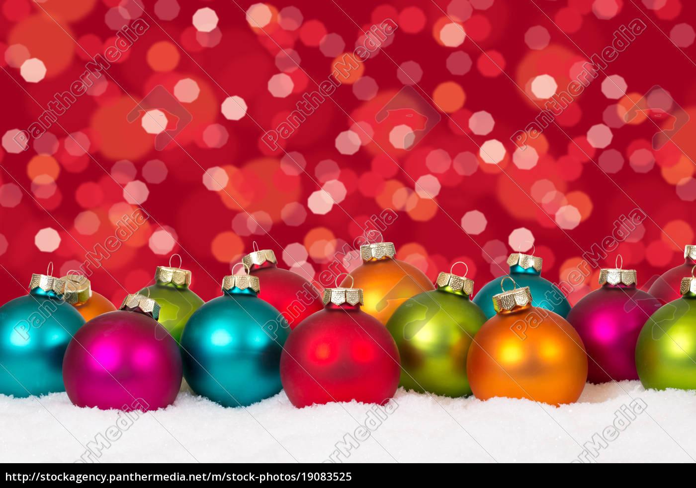 Colorful Christmas Balls.Royalty Free Image 19083525 Christmas Many Colorful Christmas Balls Decoration Snow