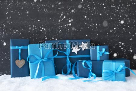blu presentare saluti vacanza inverno moderno