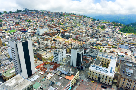 view of manizales colombia