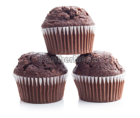the tasty chocolate muffin