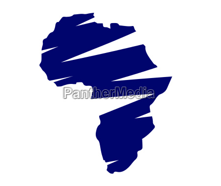 illustration of africa map
