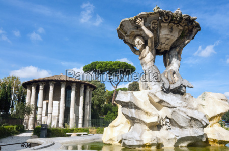 fountain of the tritons temple of