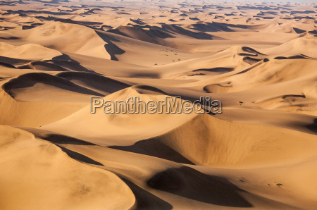 aerial view of the dunes of