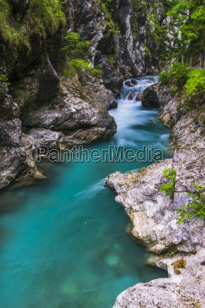 tolminka river tolmin gorges triglav national