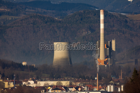 coal fired power station in styria