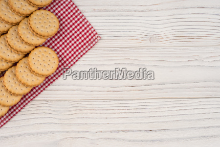 cookies, on, the, old, wooden, table. - 19112539