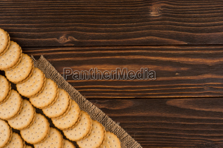 cookies, on, the, old, wooden, table. - 19112593