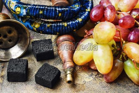hookah, and, grapes - 19116803