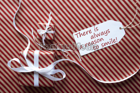 two, gifts, with, label, , quote, always - 19122141