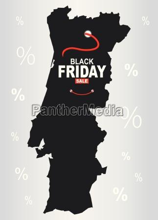 black friday map portugal