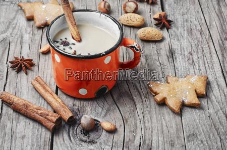 winter, warming, cappuccino - 19127627