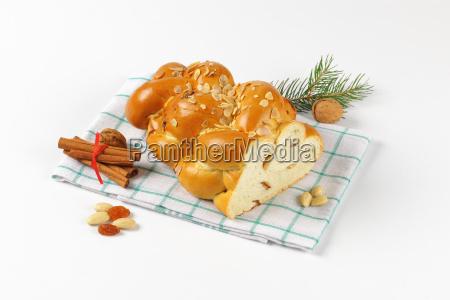 czech christmas braided bread