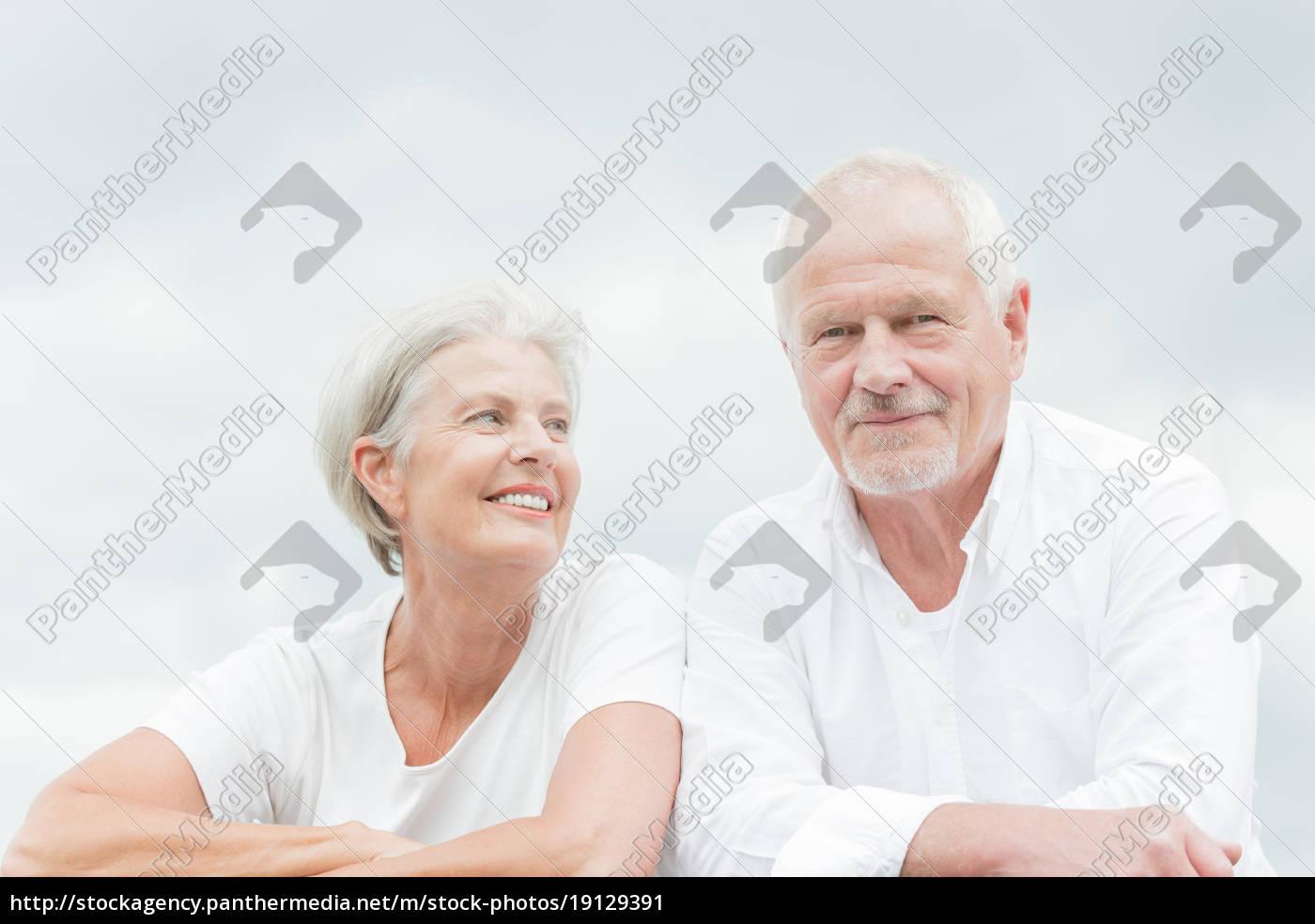 happy, seniors, couple - 19129391