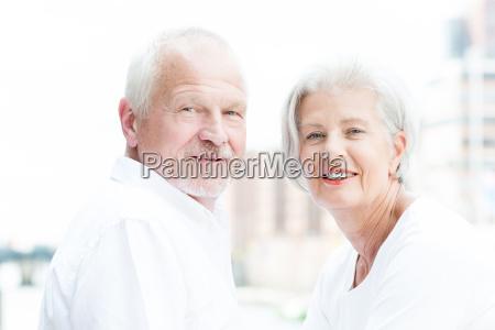 happy, seniors, couple - 19129399