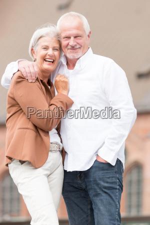 happy, seniors, couple - 19129433
