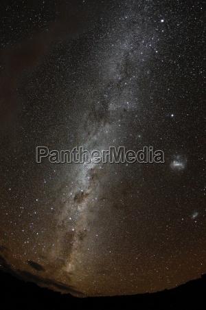 starry southern sky