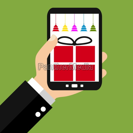buy christmas with your smartphone