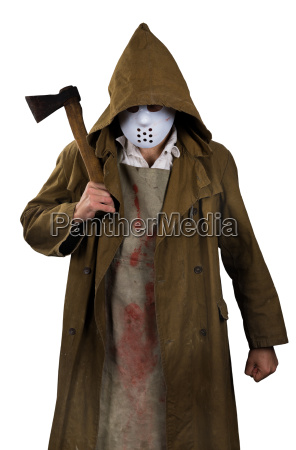 halloween costume psycho killer with
